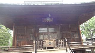 案内板によれば室町時代初期に建造。